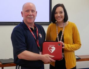 Defibrillators for Schools